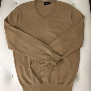 J. Crew Men's Wool Blend V-Neck Sweater M